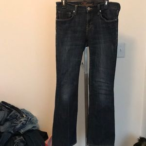 Navi molly mid rise boot cut jeans